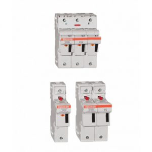 Finger Safe Fuse Holders European - Mersen - Powerfuse.com